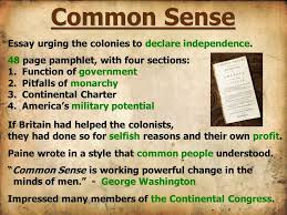 part ii war declared ppt video online  4 common sense essay
