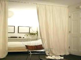 room divider curtain track dividers ideas curtains system plexiglass sliding ceiling tracks for divi