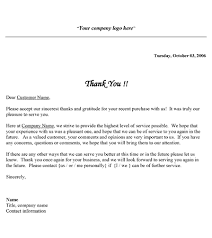 sample of appreciation letter free printable business thank you letter template