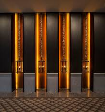 hotel hallway lighting. art gallery in hotel hallway keraton at the plaza a luxury collection lighting