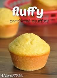 Fluffy Bakery Style Cornbread Muffins