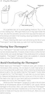 Using Your Thermapen A Guide To Better Food Through The