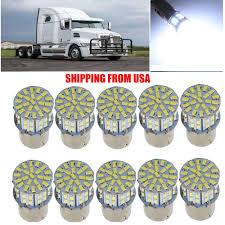 Freightliner Cascadia Interior Led Lights Details About 10x White Interior Led Light For Freightliner Cascadia 1156 50smd 1206 Cab Bulb