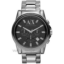 "men s armani exchange chronograph watch ax2092 watch shop comâ""¢ mens armani exchange chronograph watch ax2092"