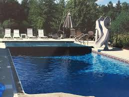 inground pool rectangle south hills pittsburgh slide automatic