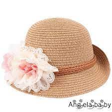 Mũ cói màu sắc dễ thương thời trang cho bé gái | Nón cho bé