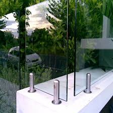 australian frameless glass pool fence mounting bracket