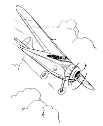 Planes Coloring Pages Mistersofpuertoricoinfo