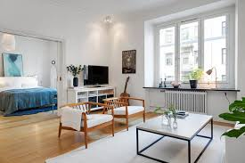 scandinavian style interior design ideas small house open plan kitchen living room ideas