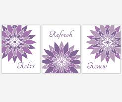 bathroom canvas wall art purple lavender relax refresh renew modern floral canvas prints bathroom decor on canvas wall art purple flowers with bathroom canvas wall art purple lavender relax refresh renew modern