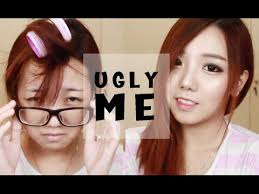 korean ulzzang daily makeup ugly to pretty 얼짱 메이크업 자습서