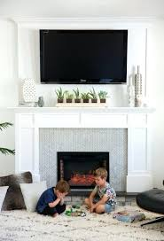 tv over fireplace ideas excellent best over fireplace ideas on above fireplace in mounting over fireplace