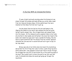 a journey an unexpected ending gcse english marked by  document image preview