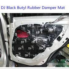 Car Parts 2MM Car Door Sound Proof Material Butyl Rubber Damping MAT