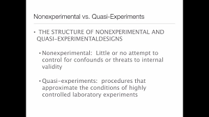 Experimental Vs Quasi Experimental Design Quasi Experimental Designs