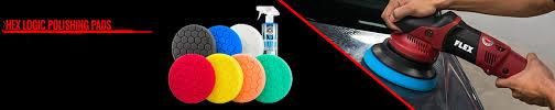 Chemicalguys Eu Hex Logic Polishing Pads