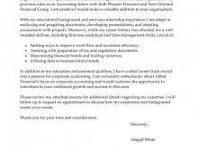 Examples Of Accounting Cover Letters Internship – Dolap.magnetband ...