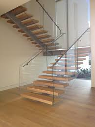 StairArt - Glass and Stainless Steel on Floating Stairs contemporary- staircase