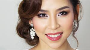 Makeup for asian brides