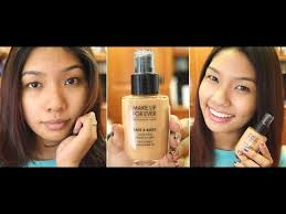 make up for ever face and body foundation review pen my you
