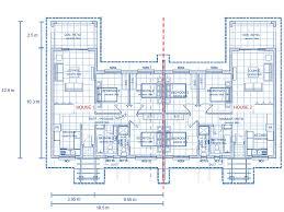 House Plans For Semi Detached Flats   Liveideas.co