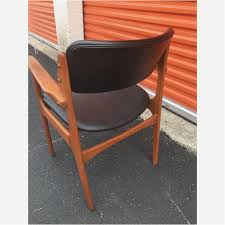 fortable dining chairs contemporary fortable side chairs vine erik buck o d mobler danish dining