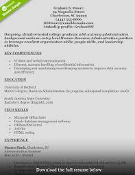 How To Write A Perfect Human Resources Resume Sample Cover Letter G