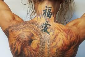 Tetování Fénixe Tetování Zděnek Zvoníček Praha 6