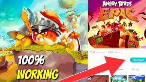 How to download ANGRY BIRDS EPIC 2021 - YouTube