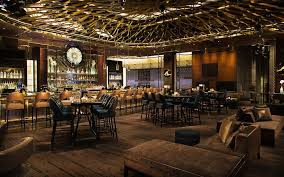 beautiful hotel bars to be seen in aria