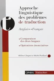 Amazonfr Approche Linguistique Des Problèmes De Traduction