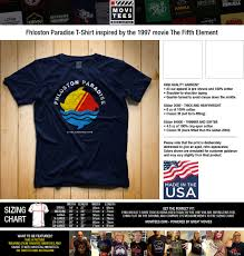Details About Fhloston Paradise T Shirt 100 Cotton Cult Classic The Fifth Element Inspired