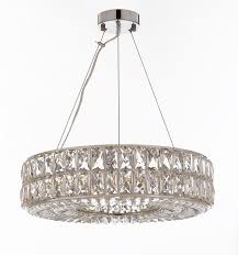 gb104 3063 8 gallery modern contemporary crystal spiridon ring chandelier chandeliers modern contemporary lighting pendant 20 wide good for dining