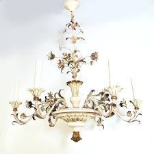 vintage french tole chandelier antique french tole chandeliers vintage italian tole chandeliers off white painted wood and tole chandelier