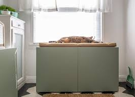 concealed litter box furniture. Step 6 Concealed Litter Box Furniture D