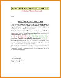 12 Job Experience Certificate Format Nurse Resumed