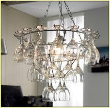 bubble chandelier on modern impressive diy glass chandelier wine glass chandelier diy home design ideas