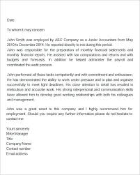 Work Reference Letter Template Agarvain Org