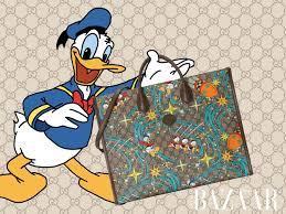 Gucci Epilogue trở về tuổi thơ với vịt Donald nhà Disney