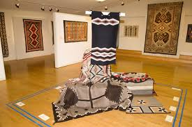 the navajo rug from the collection of charley valerie castles