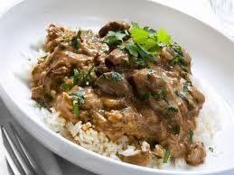 crock pot beef tips gravy with rice
