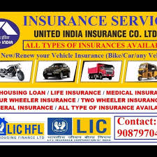 Largest public sector general insurance company of india. Online Insurance Services Life And General Lic Of India Life And United India Insurance General In Tiruvallur