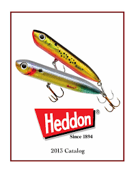Heddon Lucky 13 Color Chart Heddon Catalogo 2013 Usa By Johnny Larri Issuu
