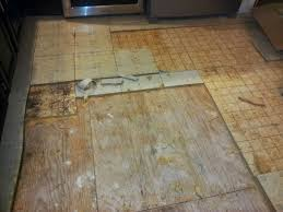 Floor Linoleum For Kitchens Our Kitchen Floor Demolition Has Begun Ian Francis