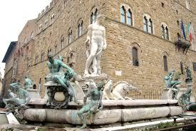 Firenze: piazza della signoria la fontana del nettuno viaggi