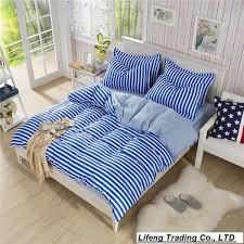 whole strip bedding set twin size bed set bed linen home textile bedclothes reactive printed duvet cover set bed sheet bedroom bedding sets bedding sets