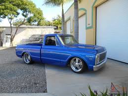Chevrolet C10 572 Truck Short Bed Pro Touring Air Ride Bagged Shop ...