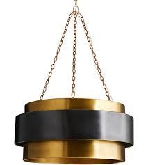 arteriors 84015 nolan 4 light 30 inch vintage brass pendant ceiling light large photo