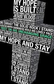 Christian Rock Quotes Best Of On Christ The Solid Rock I Stand All Other Ground Is Sinking Sand