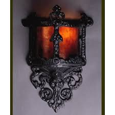lf100 small gothic wall sconce